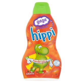 Gaga Premium Hippi Szampon i płyn do kąpieli dla dzieci powyżej 1 roku mandarynka 380 ml