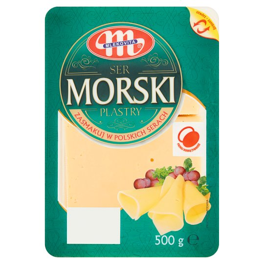 Mlekovita Morski Cheese Slices 500 g