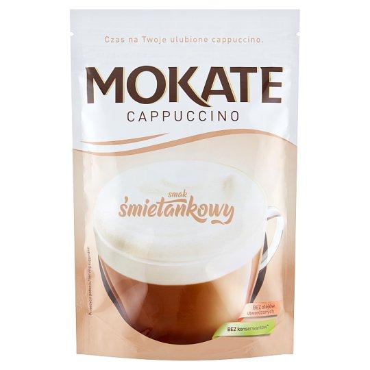 Mokate Caffetteria Cappuccino o smaku śmietankowym 110 g