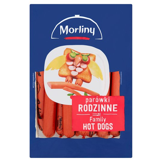 Morliny Family Thin Sausages 700 g