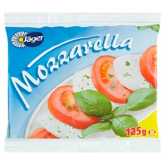 Jäger Mozzarella Ser w solance 125 g