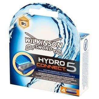 Wilkinson Sword Hydro Connect 5 Wkłady do maszynki 4 sztuki