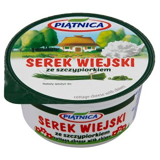 Piątnica Cottage Cheese with Chives 150 g