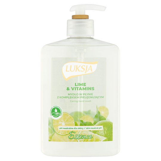 Luksja Essence Lime & Vitamins Liquid Soap 500 ml