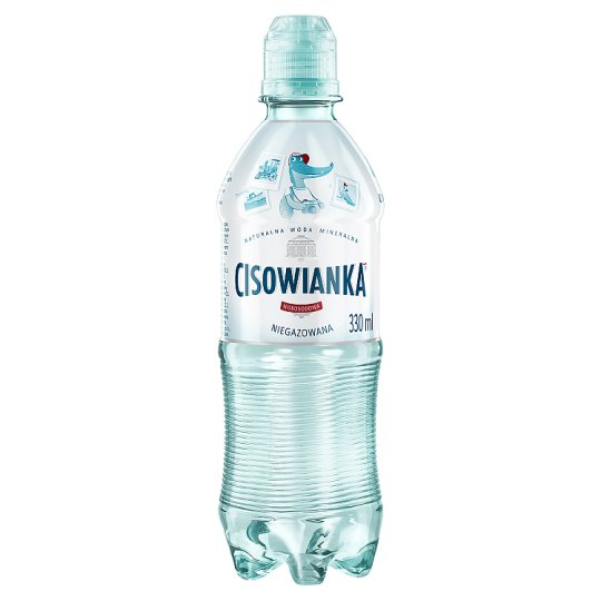 Cisowianka Low-Sodium Still Natural Mineral Water 330 ml