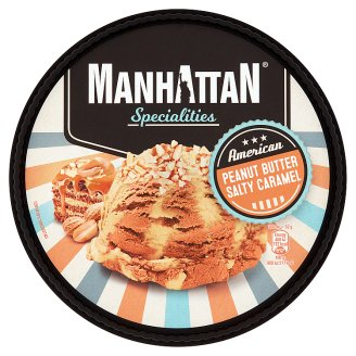Manhattan Specialities Peanut Butter Salty Caramel Ice Cream 1000 ml