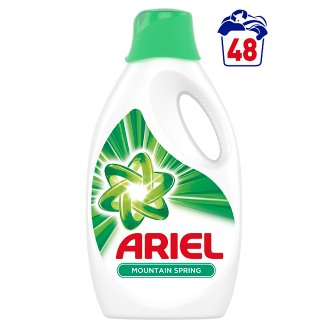 Ariel Washing Liquid Mountain Spring 2.64 L, 48 Washes