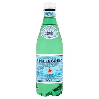 S.Pellegrino Carbonated Natural Mineral Water 500 ml