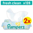 Pampers Fresh Clean 128 Wipes