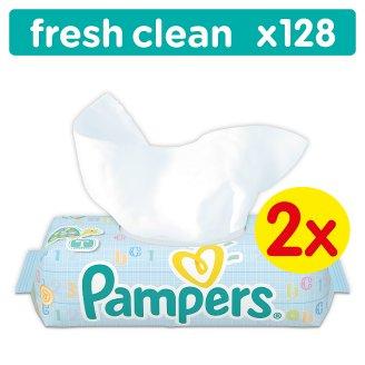 Pampers Fresh Clean 128 Wipes