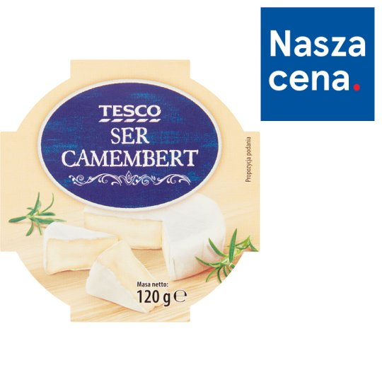Tesco Ser Camembert 120 g