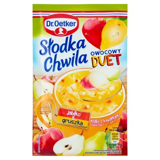 Dr. Oetker Słodka Chwila Fruit Duet Apple & Pear Jelly with Pieces of Fruits 31.5 g