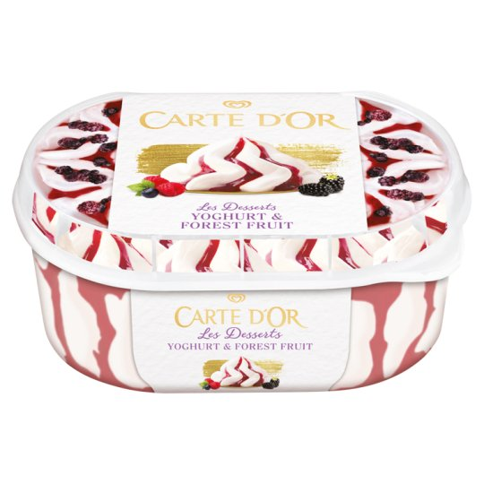 Carte D'Or Les Desserts Yoghurt & Forest Fruits Ice Cream 900 ml