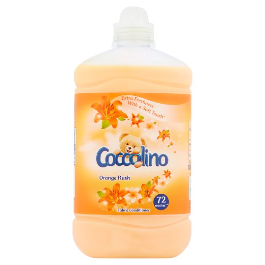Coccolino Orange Rush Concentrated Fabric Conditioner 1800 ml (72 Washes)