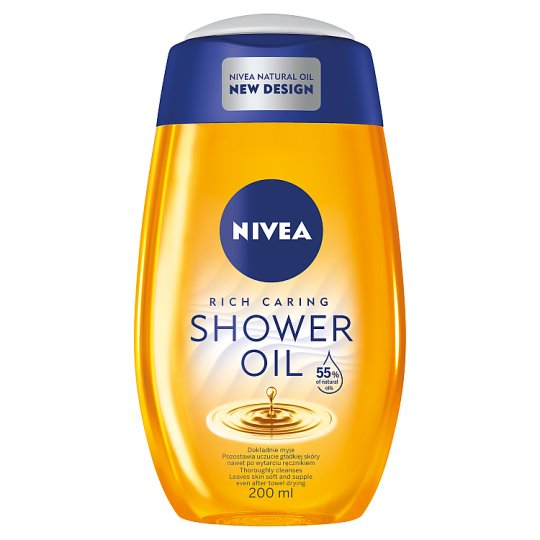 NIVEA Natural Shower Oil 200 ml