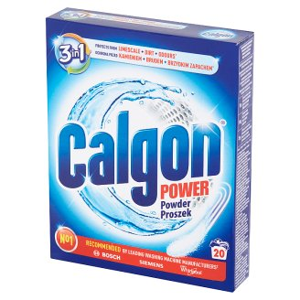 Calgon 3in1 Water Softener Powder 500 g (20 Washes)