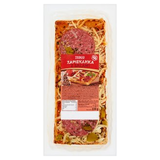 Tesco Casserole with Salami 220 g
