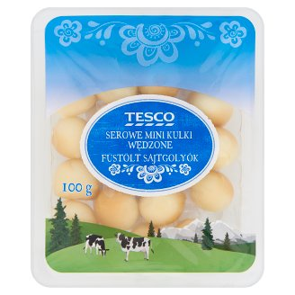 Tesco Smoked Cheese Mini Balls 100 g