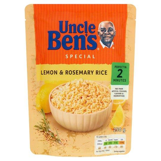 Uncle Ben's Ryż cytrynowy z rozmarynem 250 g
