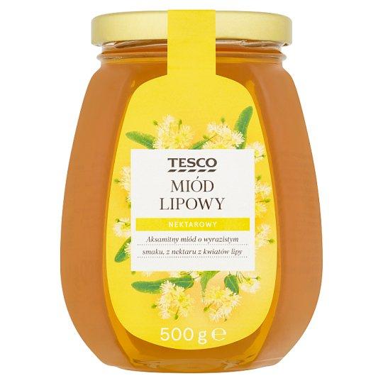 Tesco Miód lipowy nektarowy 500 g