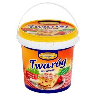 Włoszczowa Twaróg na sernik 1 kg