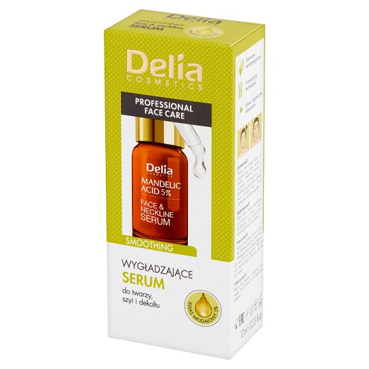 Delia Cosmetics Smoothing Face & Neckline Serum 10 ml