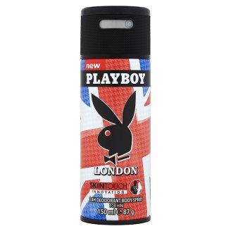 Playboy London 24H Deodorant Body Spray for Him 150 ml