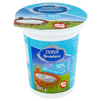 Tesco 12% Cream 330 g