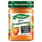 Herbapol Low Sugar Peach Jam 280 g