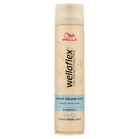 Wella Wellaflex Instant Volume Boost Hairspray 250 ml