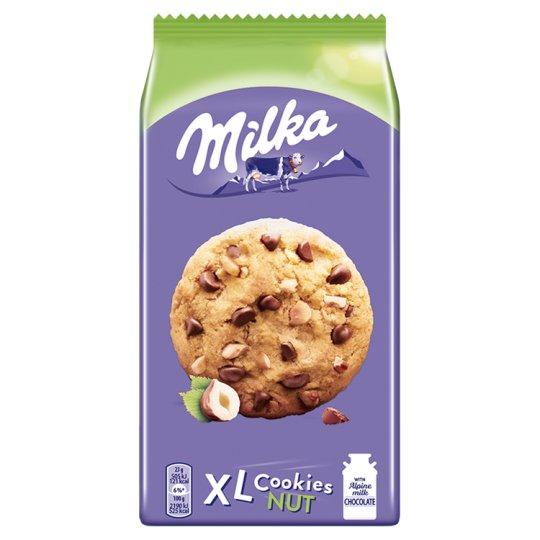 Milka XL Cookies Nut Cookies with Big Milka Chocolate Chunks and Nuts 184 g