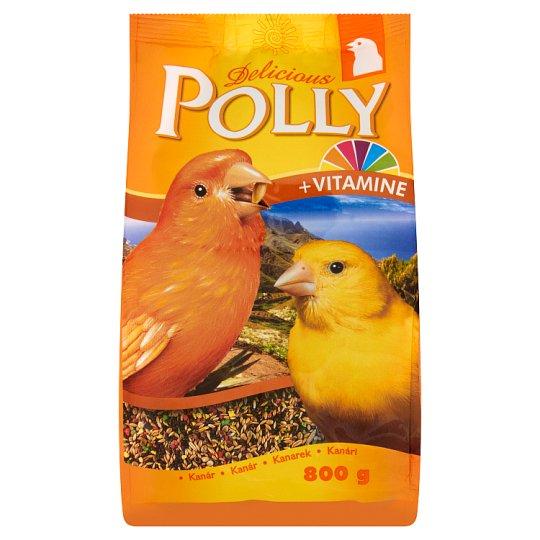 Delicious Polly Kanarek Kompletna karma dla kanarków 800 g