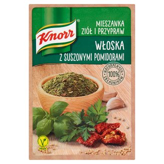 Knorr Mieszanka ziół i przypraw włoska z suszonymi pomidorami 13,5 g