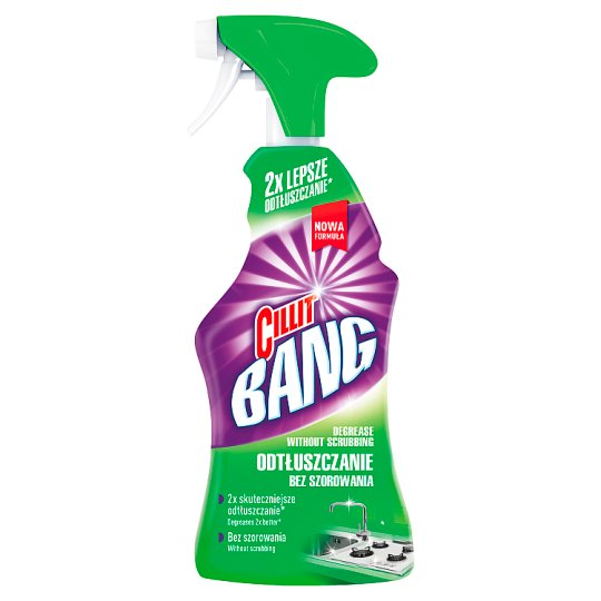 Cillit Bang Grease and Smudges Spray 750 ml