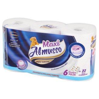 Almusso Maxi Premium Papier toaletowy 3 warstwowy 6 rolek