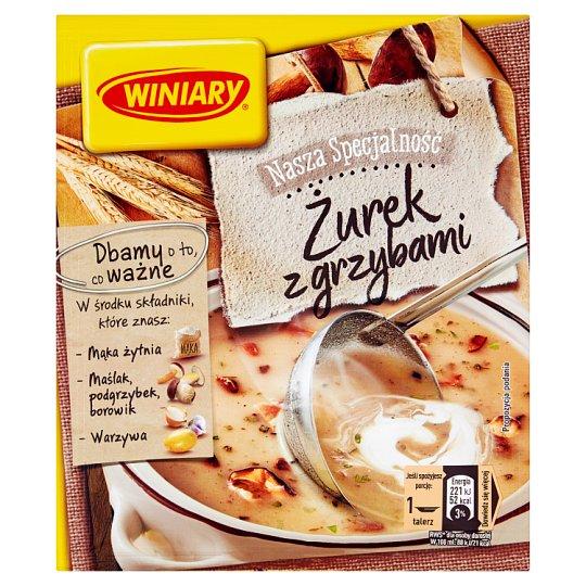Winiary Nasza Specjalność Sour Soup with Mushrooms 49 g
