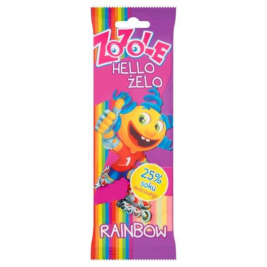 Zozole Hello Żello Rainbow Jellies 75 g