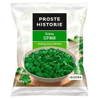 Proste Historie Chopped Spinach 450 g