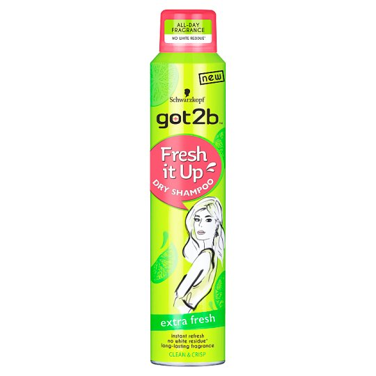 got2b Fresh It Up Extra Fresh Dry Shampoo 200 ml