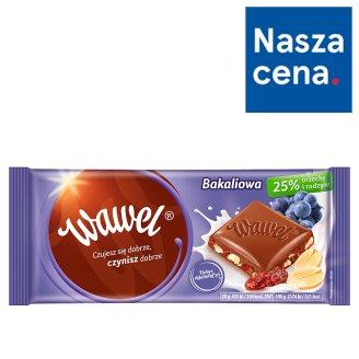 Wawel Milk Chocolate with Raisins and Peanuts 100 g