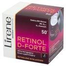 Lirene Retinol D-Forte 50+ Ultra korygujący krem ujędrniający na noc 50 ml