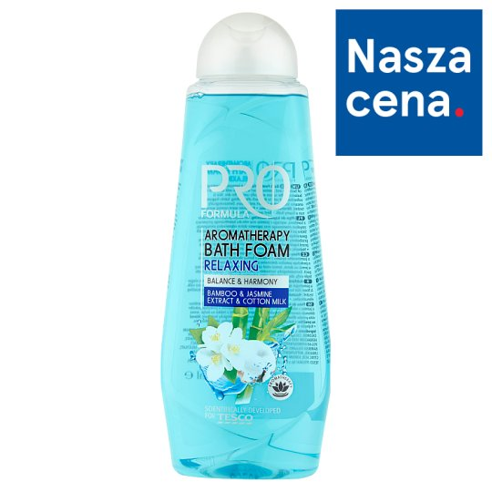 Tesco Pro Formula Relaxing Płyn do kąpieli 750 ml