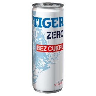 Tiger Zero Energy Drink without Sugar 250 ml
