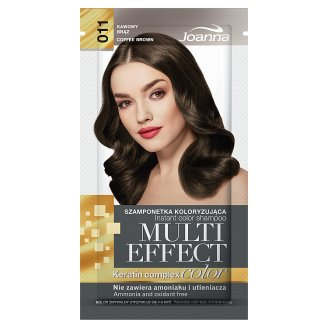 Joanna Multi Effect color Instant Color Shampoo Coffee Brown 011 35 g
