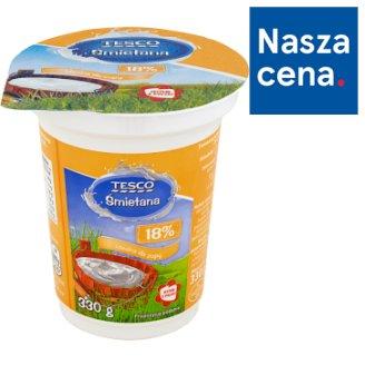 Tesco 18% Cream 330 g