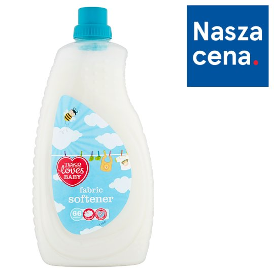 Tesco Loves Baby Płyn do płukania tkanin 2 l