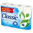 Classic Klasycznie Biały Papier toaletowy 12 rolek