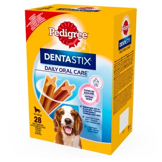 Pedigree DentaStix Supplementary Food for Dogs 4 x 180 g (28 Pieces)