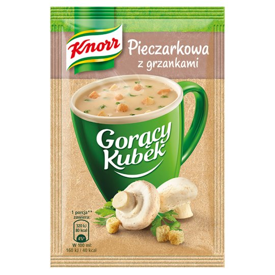 Knorr Gorący Kubek Champignon Soup with Croutons 15 g