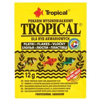 Tropical Tropical Pokarm wysokobiałkowy dla ryb akwariowych płatki 12 g